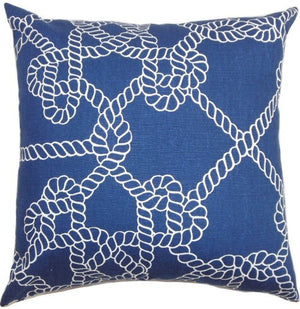 Knotty Rope Down-Filled Pillows - Nautical Luxuries
