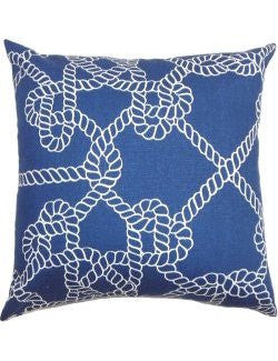 Knotty Rope Down-Filled Pillows