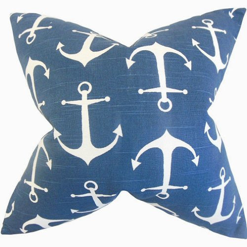 Marine Anchors Down-Filled Pillows
