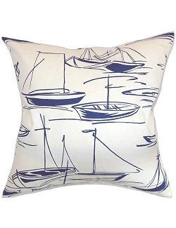 Les Bateaux Down-Filled Pillows