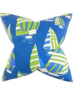 Downwind Sails Down-Filled Pillows - Nautical Luxuries