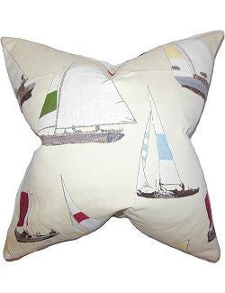 Racing Fleet Down-Filled Pillows