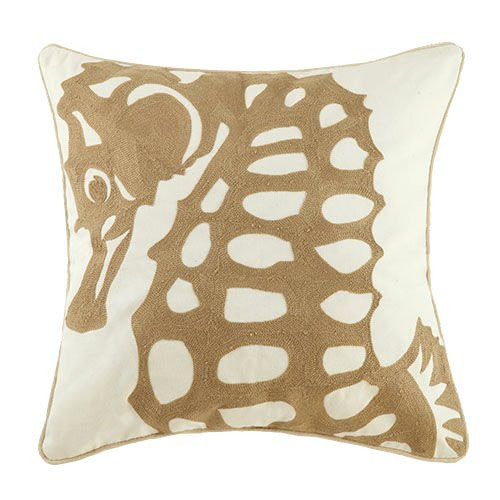Sandy Seas Embroidered Pillow Collection