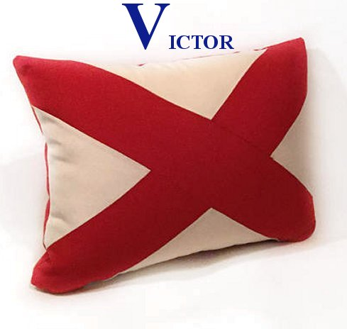 Sunbrella® Outdoor Nautical Accent Pillows