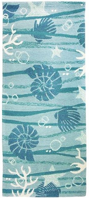 indoor outdoor rug coastal style