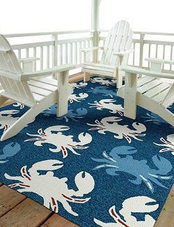 Crab Fest Indoor/Outdoor Rugs