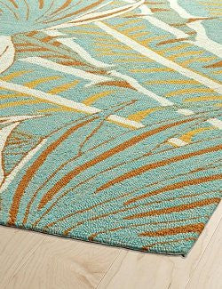 Florida Keys Summer Palm Indoor/Outdoor Rugs