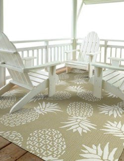 Pineapple Paradise Indoor/Outdoor Rugs