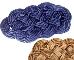 Italian Yachtsman's Braided Rope Area Rug - Nautical Luxuries