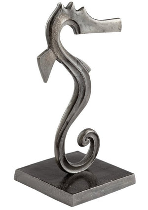 Modern Seahorse Sculpture - Nautical Luxuries