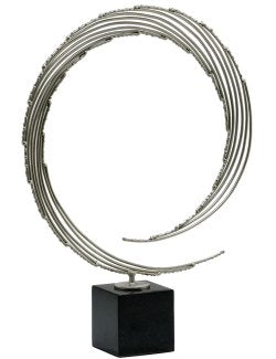 Wave Curl Contemporary Sculpture - Nautical Luxuries