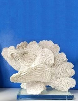 Corduroy Coral Sculpture - Nautical Luxuries