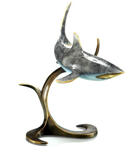 On The Prowl Brass Sculpture