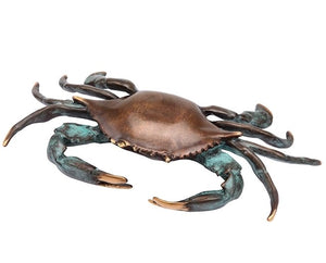 Bluepoint Crab Sculpture - Nautical Luxuries