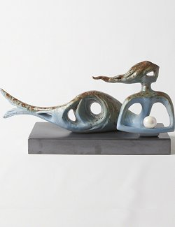 Pearl Treasure Mermaid Sculpture