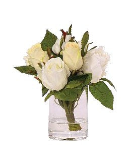 Rosebud Stateroom Bouquet Yacht Silks Arrangement