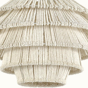 Coco Bead Tiered Pendant - Nautical Luxuries