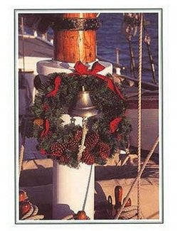 Holiday Bell Boxed Holiday Cards - Nautical Luxuries