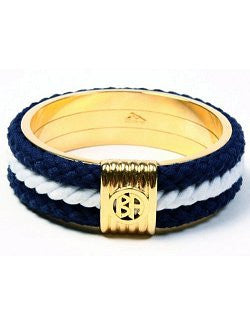 Ben-Amun Nautical Rope Bangle Bracelet - Nautical Luxuries