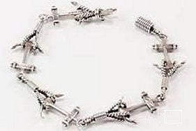 Sterling Silver Nautical Link Bracelets - Nautical Luxuries