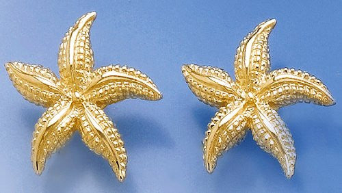 Sanibel Shores Floating Starfish Earrings