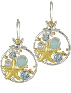 Sea Treasures Spring Starfish Gems - Nautical Luxuries