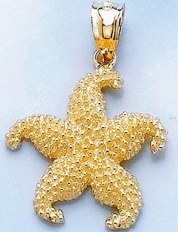 Sanibel Shores Curling Starfish Pendant