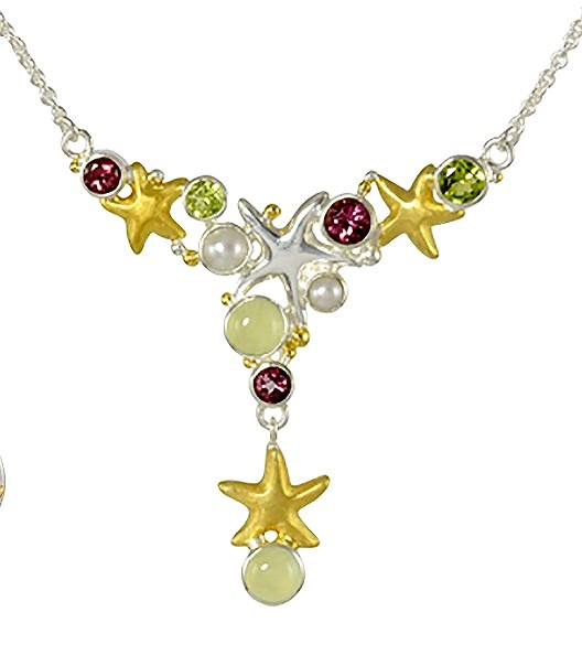 Sea Treasures Summer Starfish Gems - Nautical Luxuries