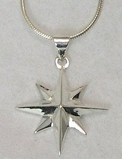 Grande Compass Rose Necklace