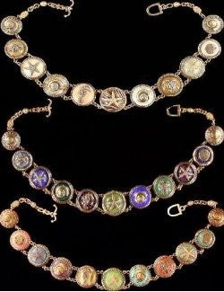 Heirloom Relics Sea Life Link Bracelets & Necklaces