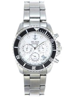 Ship's Anchor Stainless Chronograph Watches - Nautical Luxuries