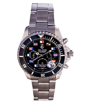 Code Flags Chronograph Watches - Nautical Luxuries