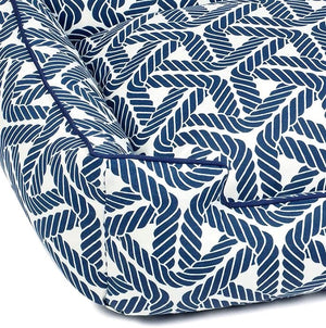 Rope Weave Indoor/Outdoor Luxury Pet Bed - Nautical Luxuries