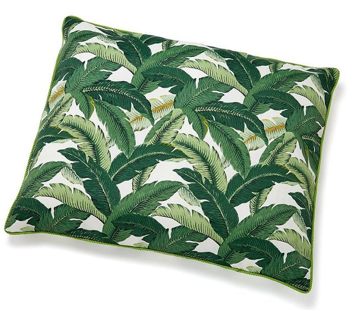 tropical outdoor pet bed