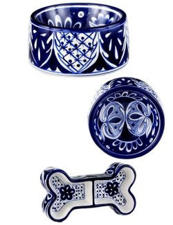 Costa Azul Pet Bowls - Nautical Luxuries