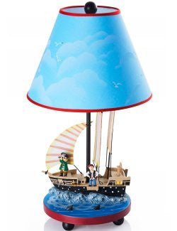 Pirate Adventure Child's Table Lamp