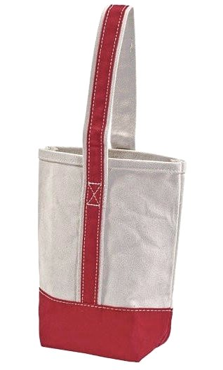Yachtsman's Canvas Boat Tote Wine Totes - Nautical Luxuries