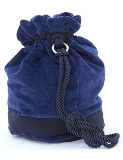 Giovanna Locatelli Chenille Nautical Hobo Shoulder Bag