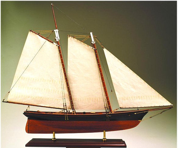 America's Cup Model: America, 1851 - Nautical Luxuries