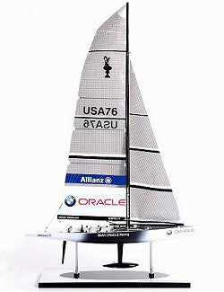 America's Cup Model: BMW Oracle Racing 2007
