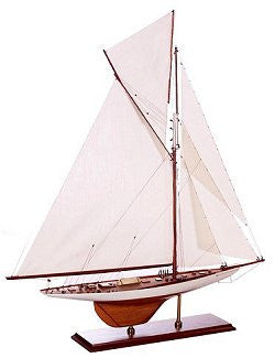 America's Cup Model: Columbia, 1899 - Nautical Luxuries