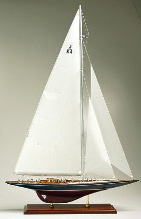 America's Cup Model: Endeavour I, 1934 - Nautical Luxuries