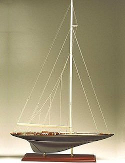 America's Cup Model: Shamrock V, 1930 - Nautical Luxuries