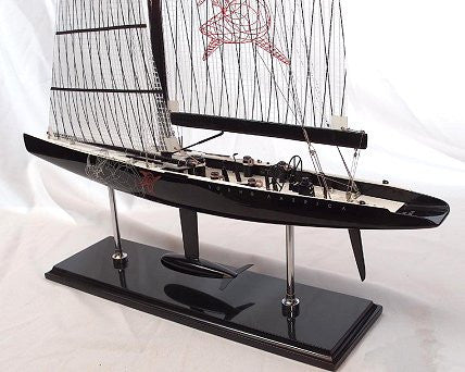 America's Cup Model: Young America, 2000 - Nautical Luxuries