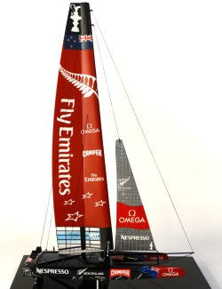 America's Cup 2013 AC72 Desk Model: Emirates Team New Zealand