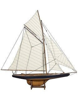 1901 America's Cup Winner: Columbia - Nautical Luxuries