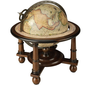 Navigator's Old World Tabletop Globe - Nautical Luxuries
