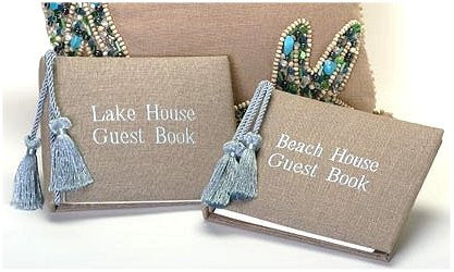 Beach House & Lake House Guest Books