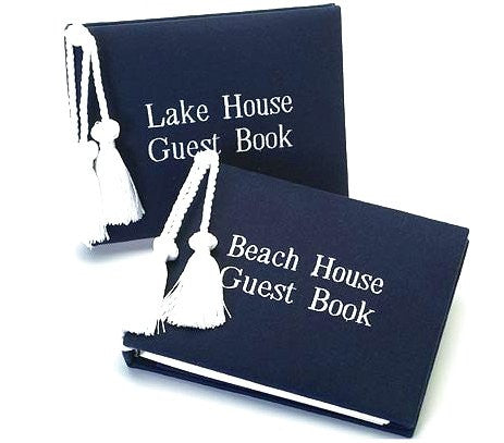 Beach House & Lake House Guest Books - Nautical Luxuries