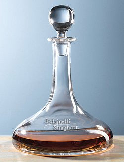 Customized Captain's Galley Decanters (Bulk Item)